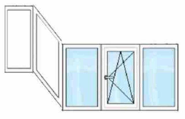 окна для лоджии с аппендиксом