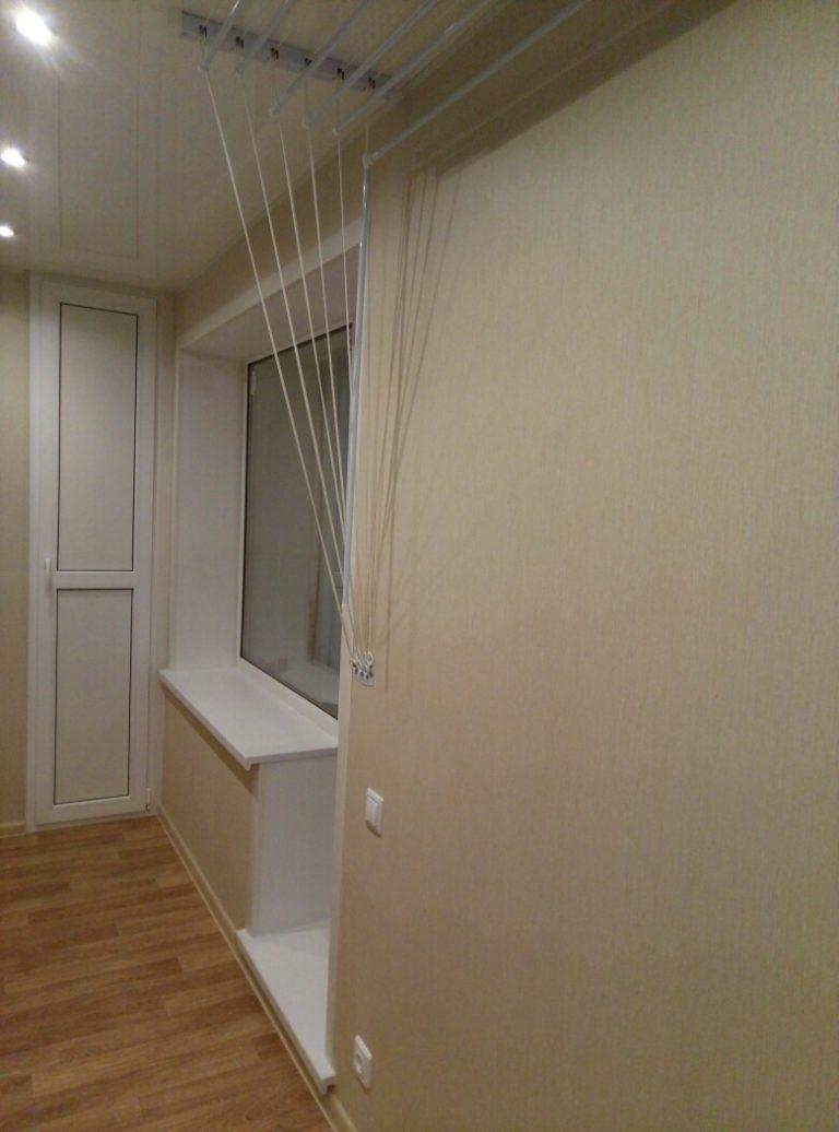 внутренняя отделка балкона 6 метров