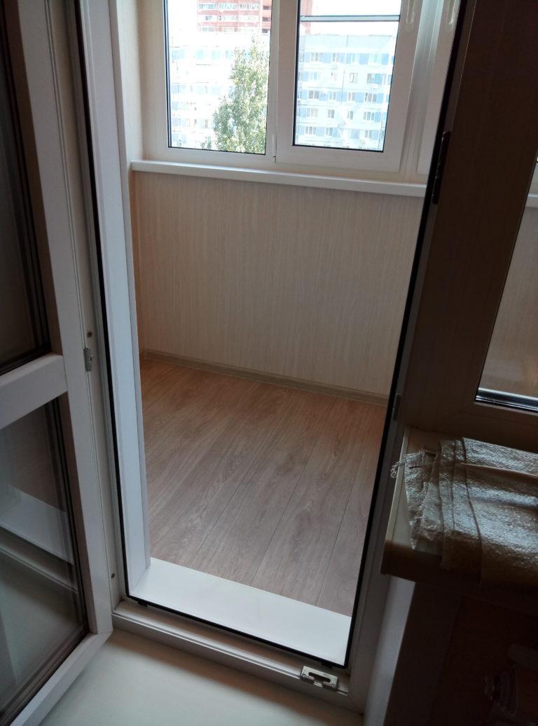 внутренняя отделка балкона с теплым полом фирма зайцевой