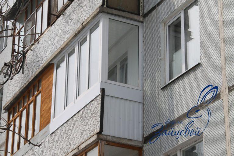 Балкон 3,5 метра с боковиной