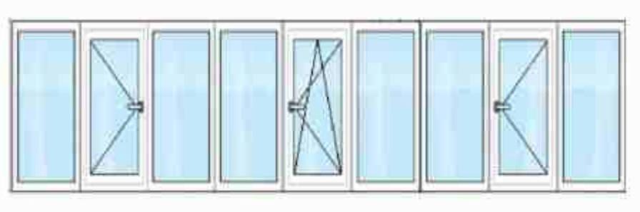 рама-балконная 6 метров
