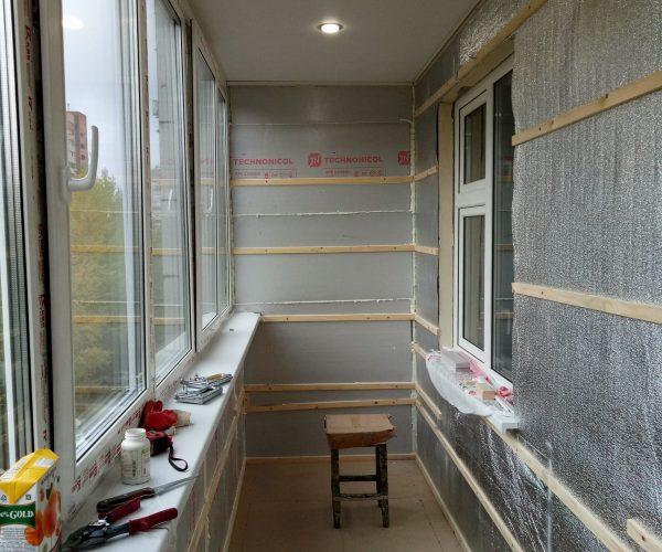 утепление балкона 6 метров