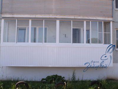 Балкон 6м, Алюминиевая раздвижная система